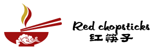 Red Chopsticks Logo